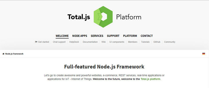 10 Best Node js Frameworks in 2018 | DA-14