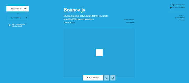 Bounce.js animation library