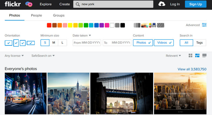 social-media-app-development-flickr-photo-platform